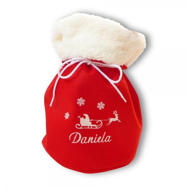 Weihnachtlicher Geschenksack