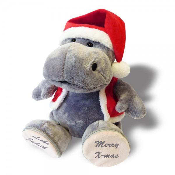 Plüschtier Hippo Weihnachtshippo